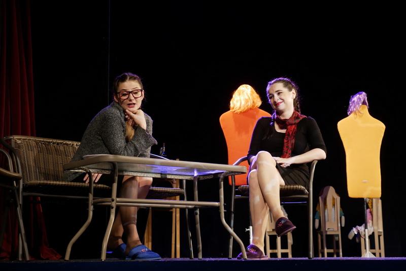 """У театрі ляльок показали виставу для дорослого глядача """"Усе про жінок"""" 2"""
