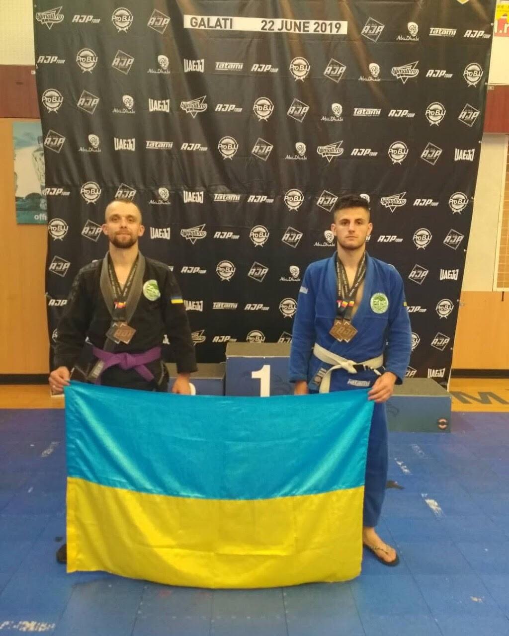 Франківець Анатолій Розвадовський здобув два золота на Міжнародному чемпіонаті з бразильського джіу-джитсу 2