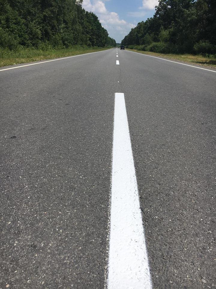 350 км державних доріг на Прикарпатті отримають нову розмітку 6