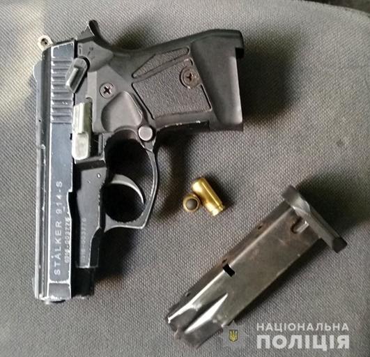 Поліцейські вилучили зброю та набої у трьох жителів Франківщини 2