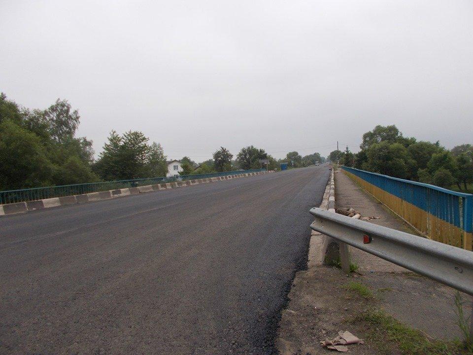 На Франківщині ремонтують автотрасу до Гошева 2