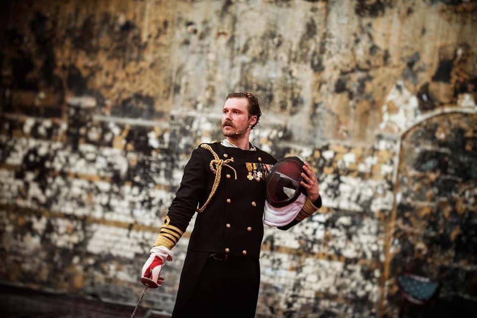Вистава на скотобійні: франківець Роман Луцький у Театрі Польскому грає Гамлета 2