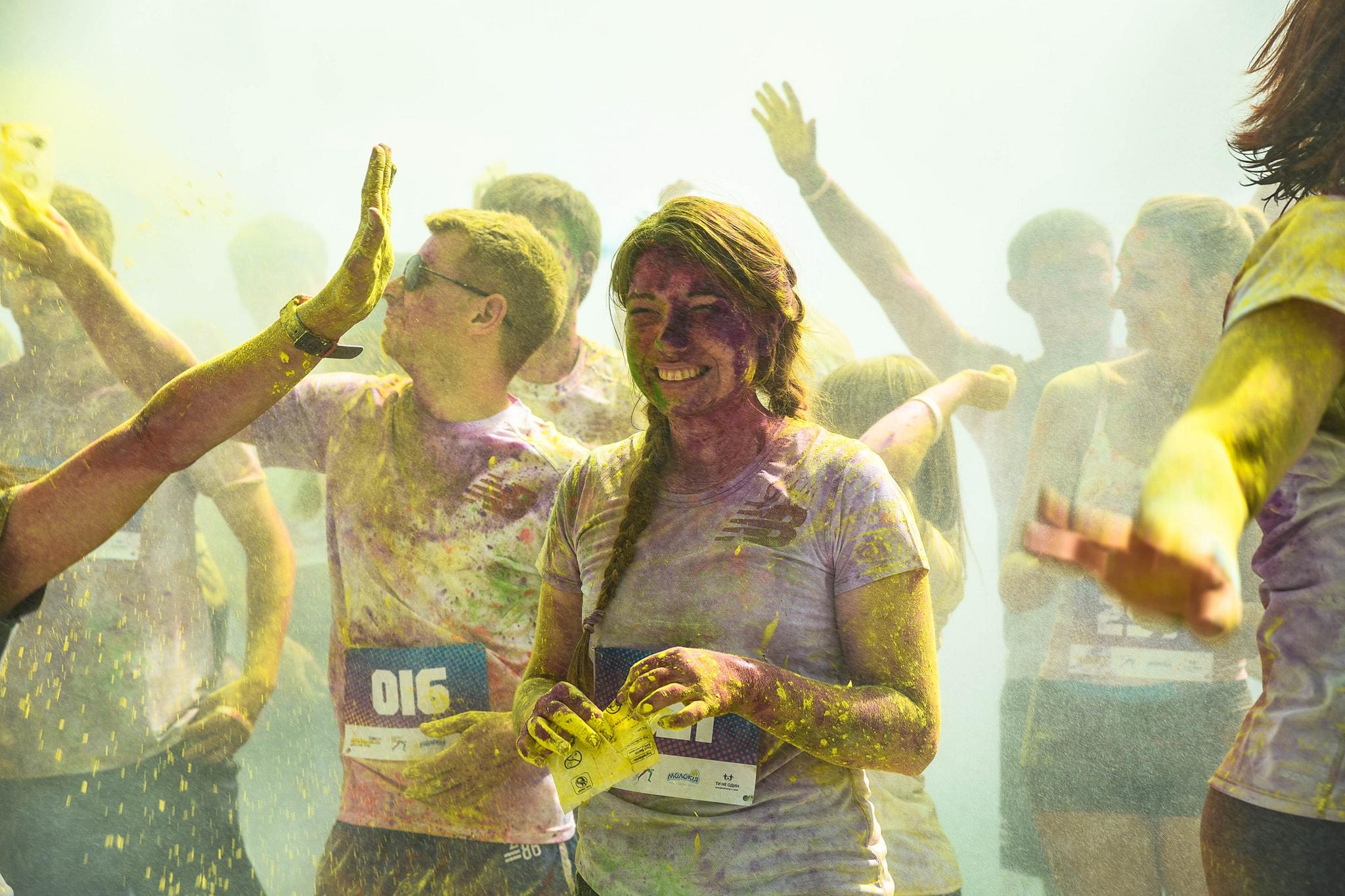 У Франківську на кольоровому пробігу зібрали понад 15 тисяч гривень на здійснення дитячих мрій 1
