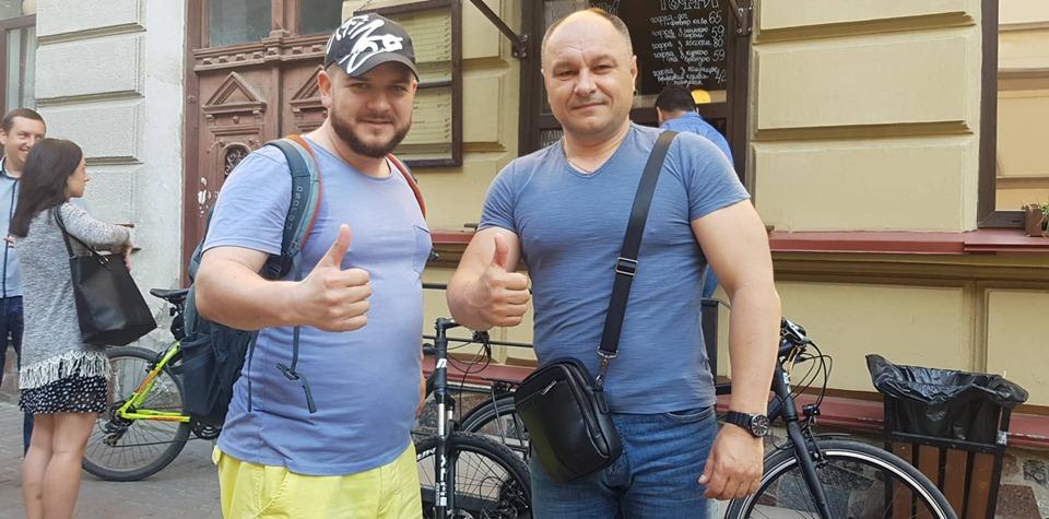 Франківські чиновники на велосипедах проінспектували місто 6