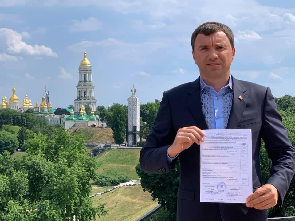 Андрій Іванчук зареєструвався кандидатом у нардепи від Коломийсько-Городенківського округу 1
