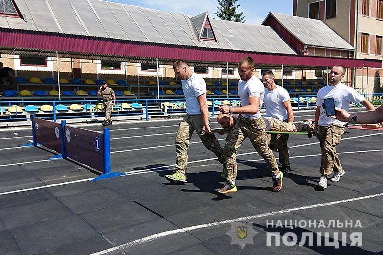 У Франківську відбулися змагання з багатоборства серед поліцейських 6