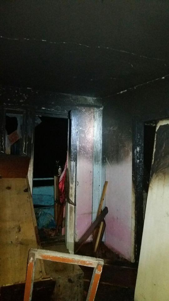 У Калуші згоріла квартира на п'ятому поверсі 2