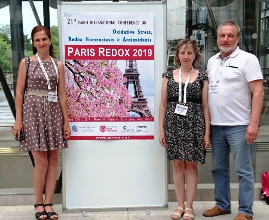 Науковці-біохіміки ПНУ виступили на міжнародній конференції в Парижі 4