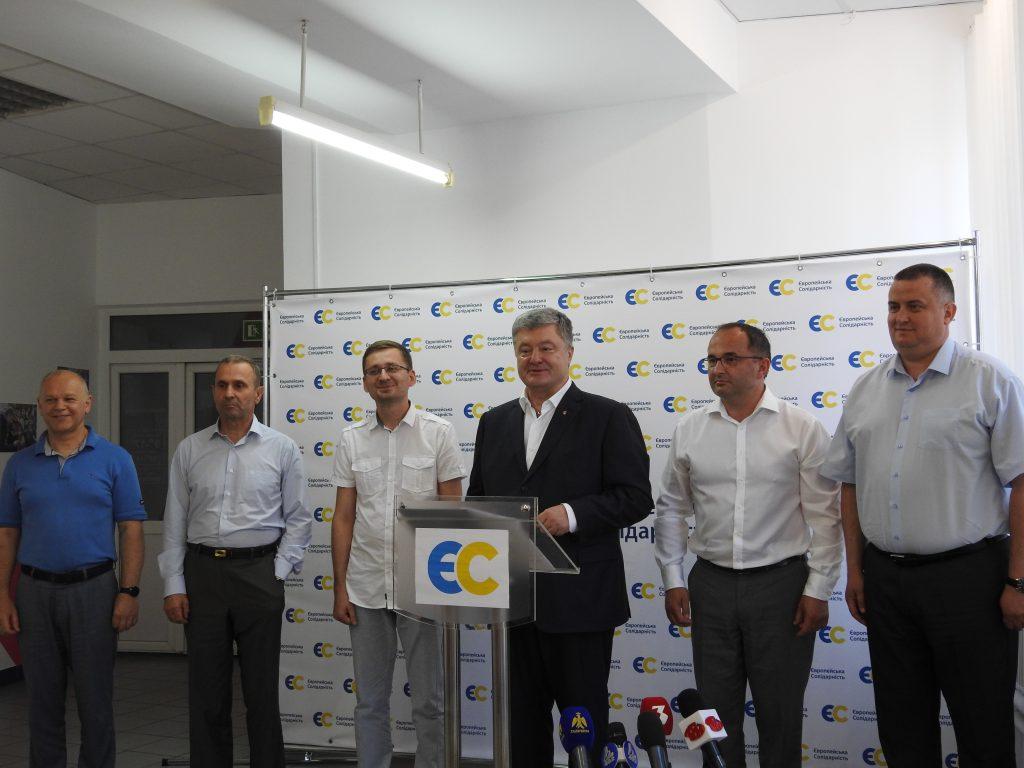 Петро Порошенко представив кандидата по Івано-Франківському мажоритарному округу 2