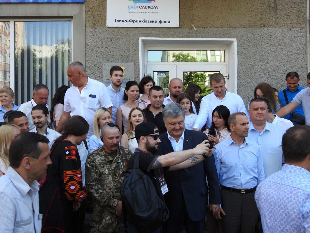 Петро Порошенко представив кандидата по Івано-Франківському мажоритарному округу 4