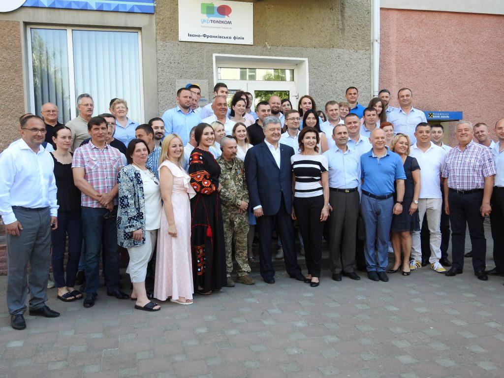 Петро Порошенко представив кандидата по Івано-Франківському мажоритарному округу 6