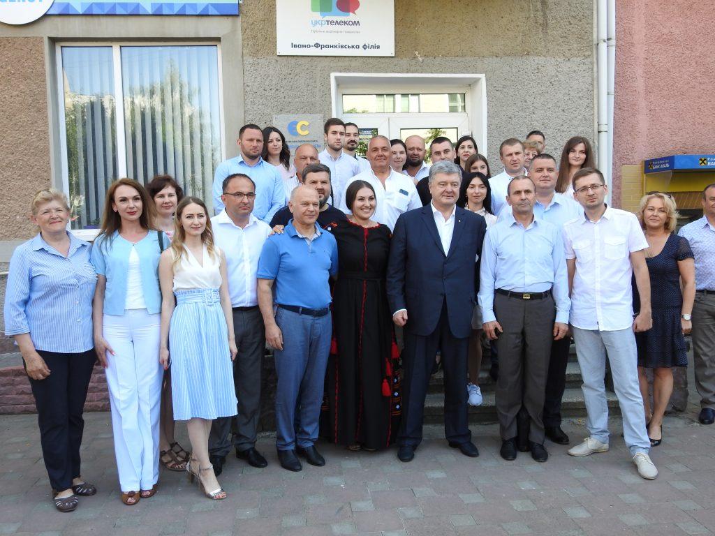 Петро Порошенко представив кандидата по Івано-Франківському мажоритарному округу 8