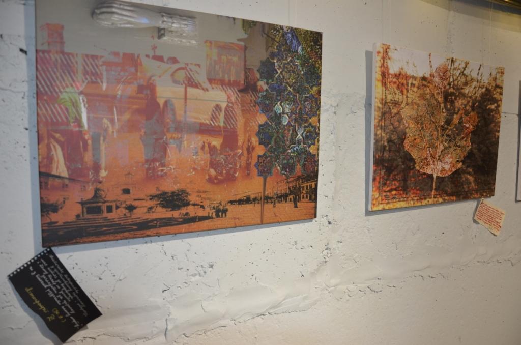 «Сотворіння саду»: у «Ваґабундо» презентували колажі Ніни Андрухович 3
