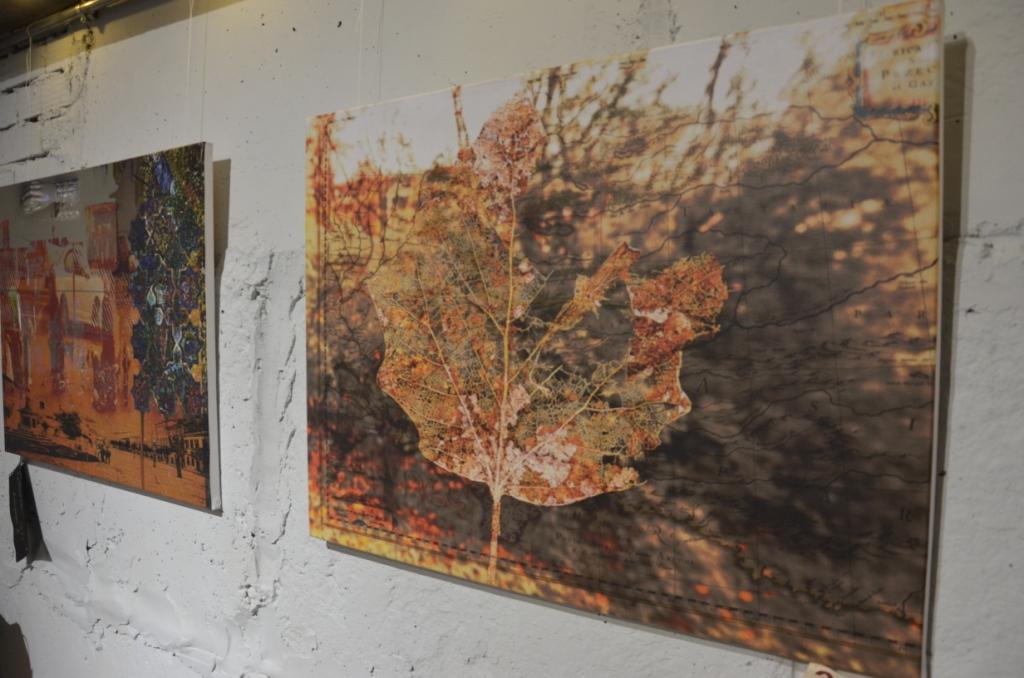 «Сотворіння саду»: у «Ваґабундо» презентували колажі Ніни Андрухович 2