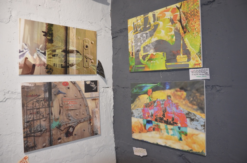 «Сотворіння саду»: у «Ваґабундо» презентували колажі Ніни Андрухович 14