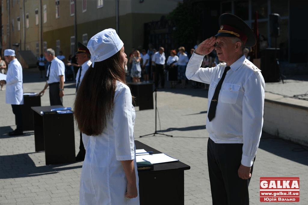 У Франківську майбутні офіцери-медики склали присягу 2