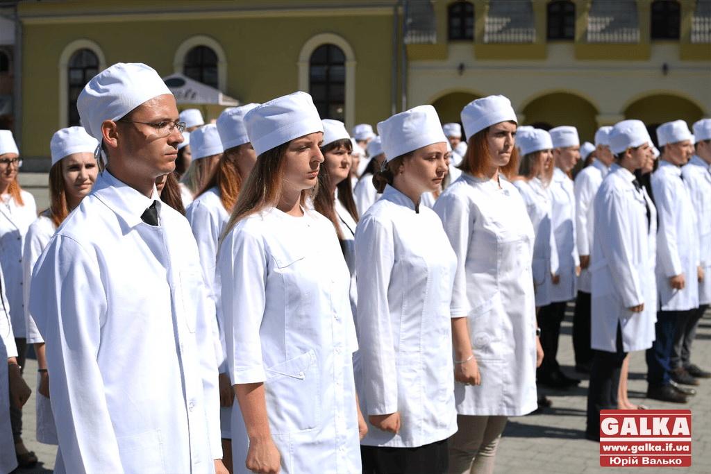 У Франківську майбутні офіцери-медики склали присягу 6