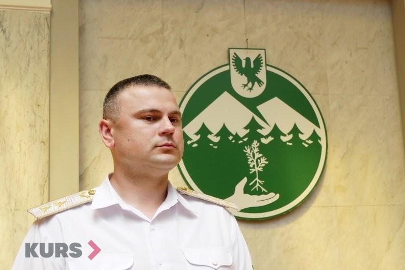 Івано-Франківське управління лісового господарства очолив Віктор Сахнюк 14