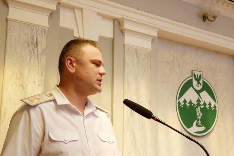Івано-Франківське управління лісового господарства очолив Віктор Сахнюк 12