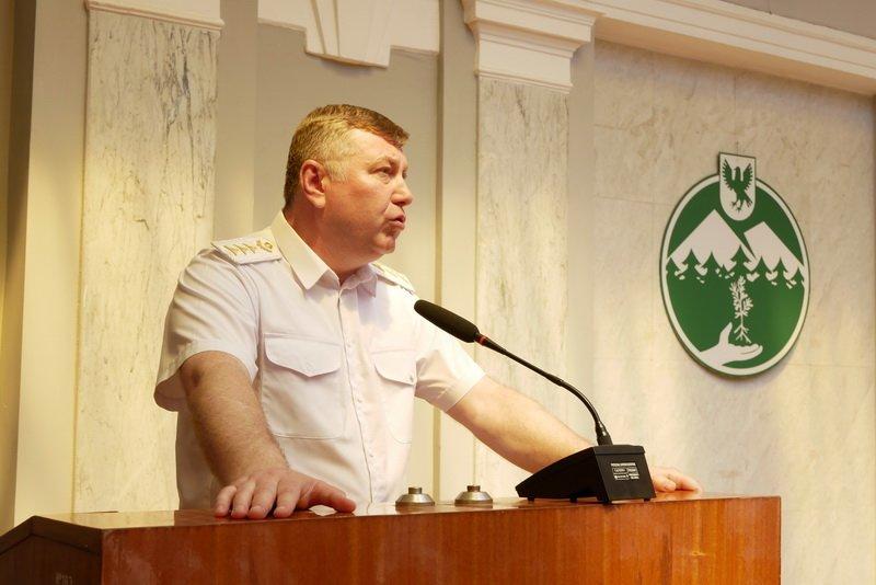 Івано-Франківське управління лісового господарства очолив Віктор Сахнюк 4