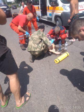 У Франківську на переході збили велосипедиста – підліток у лікарні 2