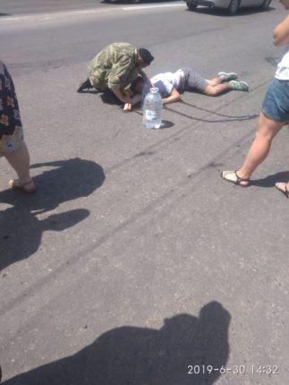 У Франківську на переході збили велосипедиста – підліток у лікарні 1