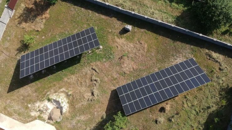 Сонячну електростанцію для дому потужністю 30 кВт встановлено в Драгомирчанах 1