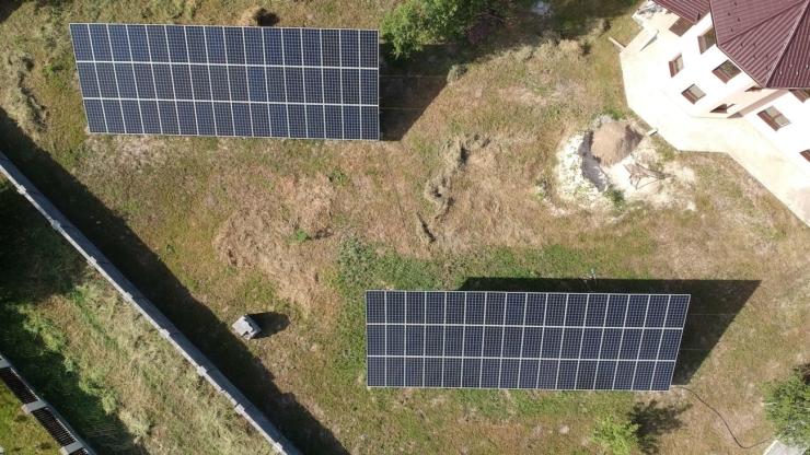 Сонячну електростанцію для дому потужністю 30 кВт встановлено в Драгомирчанах 3