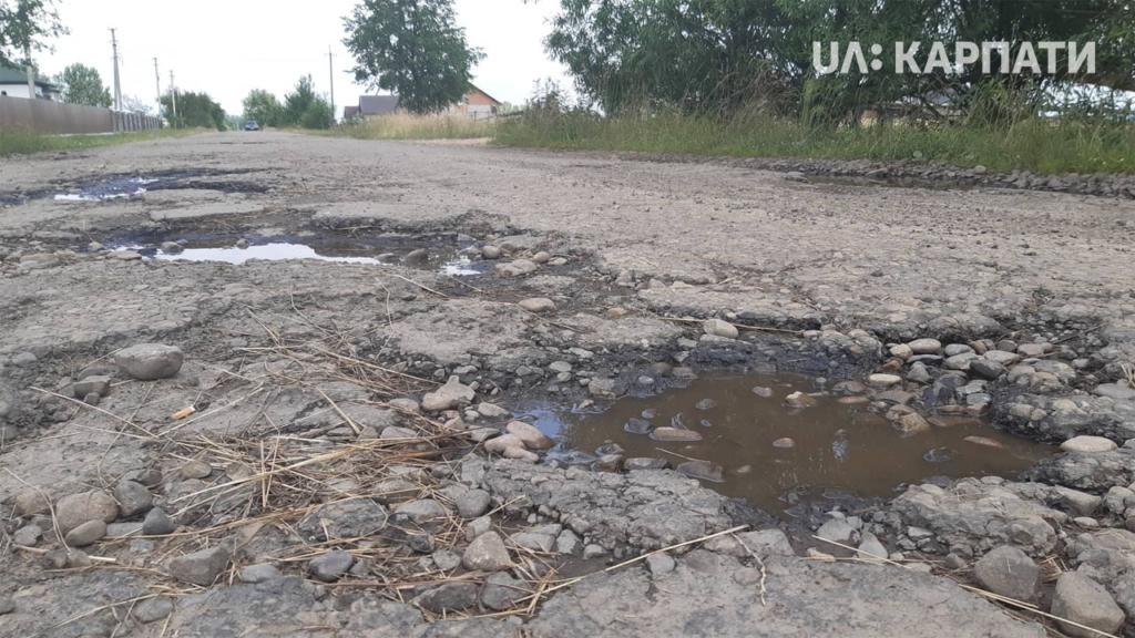 У Рожнятівській РДА жителі сіл вимагали відремонтувати дороги 1