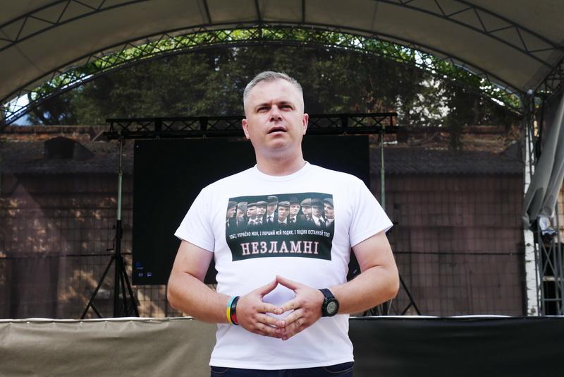 У Палаці Потоцьких показали фільм про оунівців «Незламні» 1