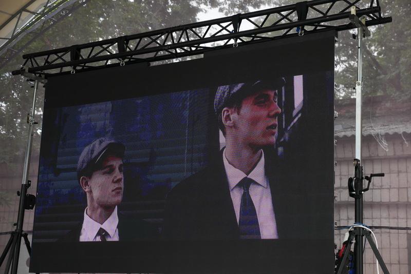 У Палаці Потоцьких показали фільм про оунівців «Незламні» 9