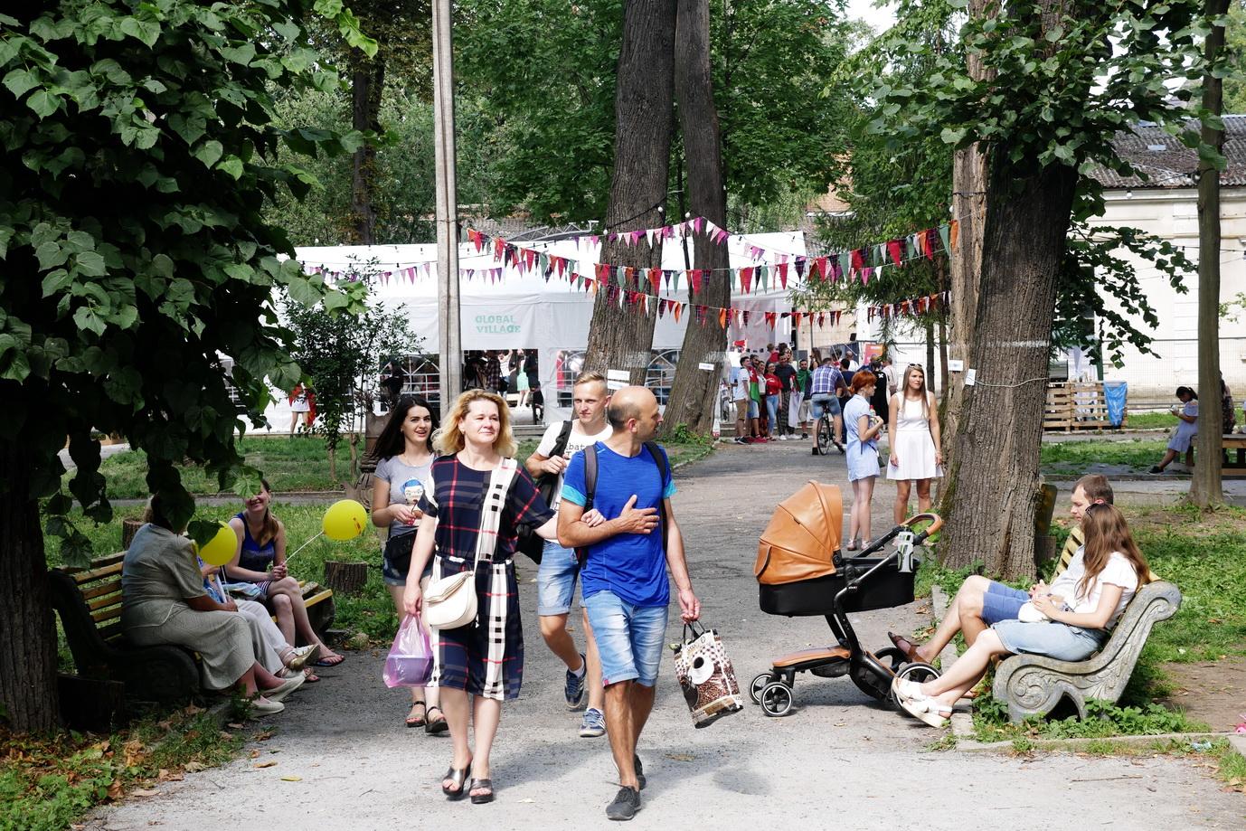 У Франківську на фестивалі Global Village 9 країн презентують свою культуру 30