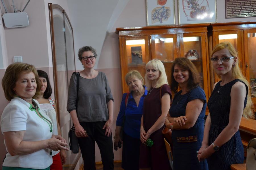 Німецька медсестра хоспісу дала майстер-клас франківським медикам 4