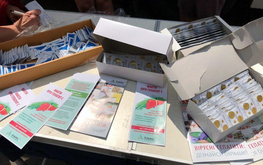 Близько сотні франківців пройшли безкоштовний експрестест на гепатит С 2