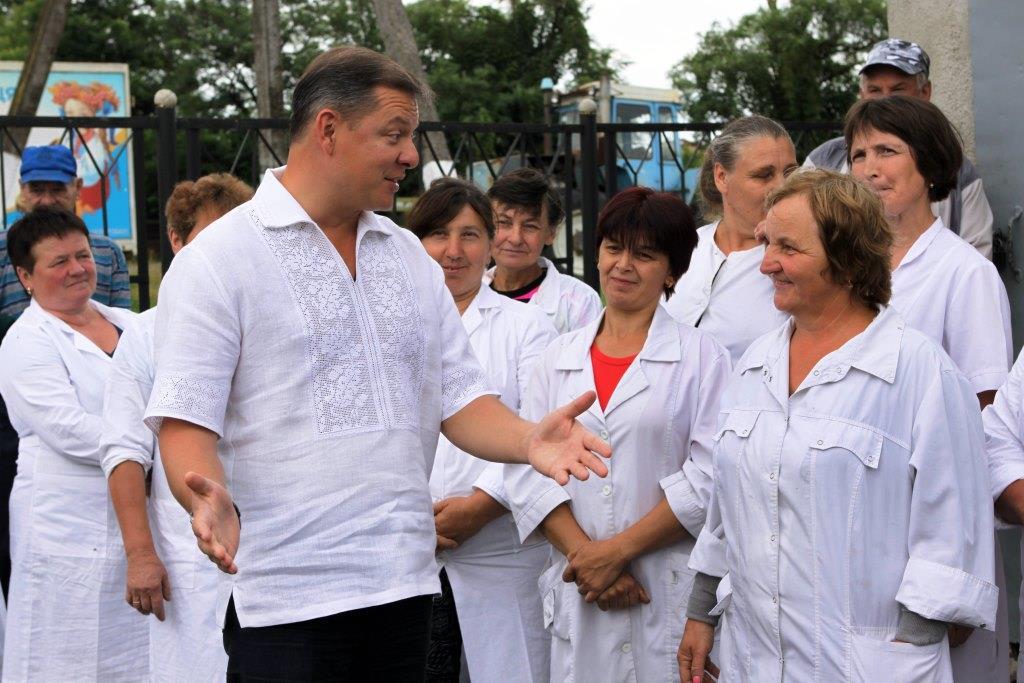 """Ляшко на Прикарпатті: """"Менше свиней при владі – більше корів на селі"""" 4"""