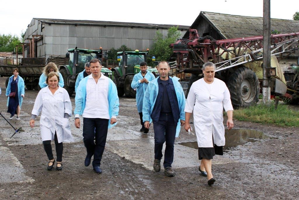 """Ляшко на Прикарпатті: """"Менше свиней при владі – більше корів на селі"""" 6"""