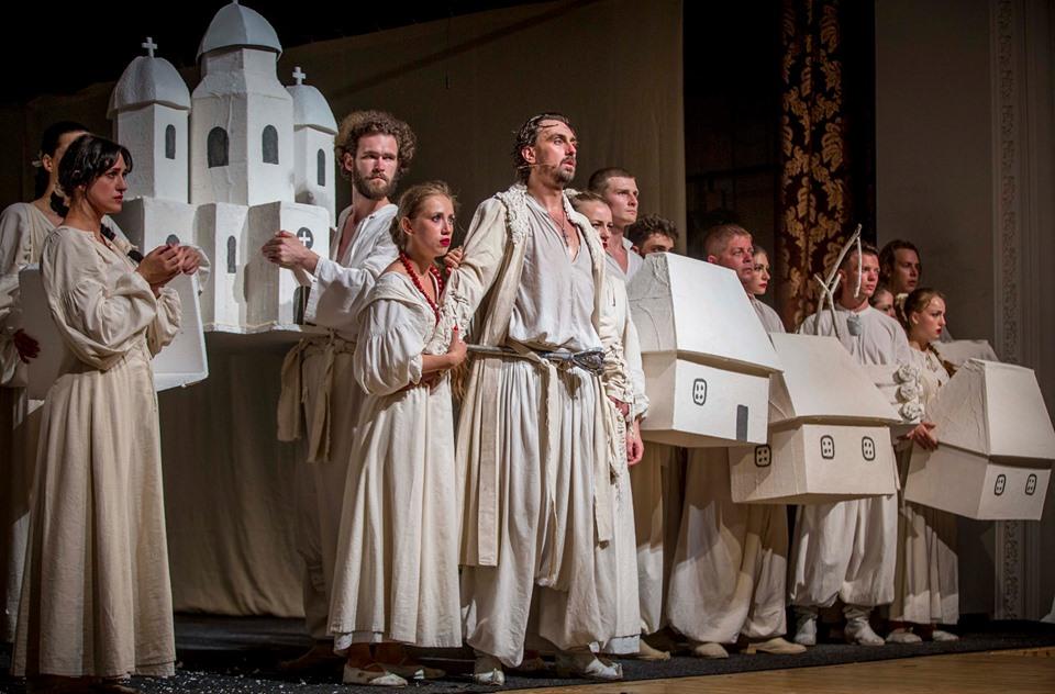 Вистава Франківського драмтеатру отримала нагороду на фестивалі в Одесі (фотофакт)