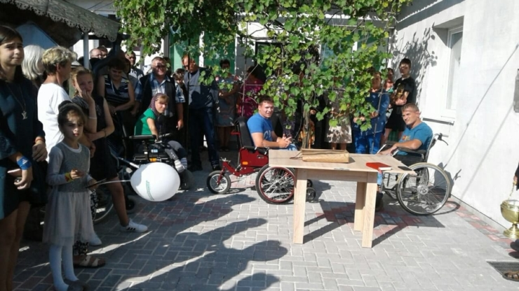 На Прикарпатті відкрили будинок підтриманого проживання для сиріт з інвалідністю (фоторепортаж)