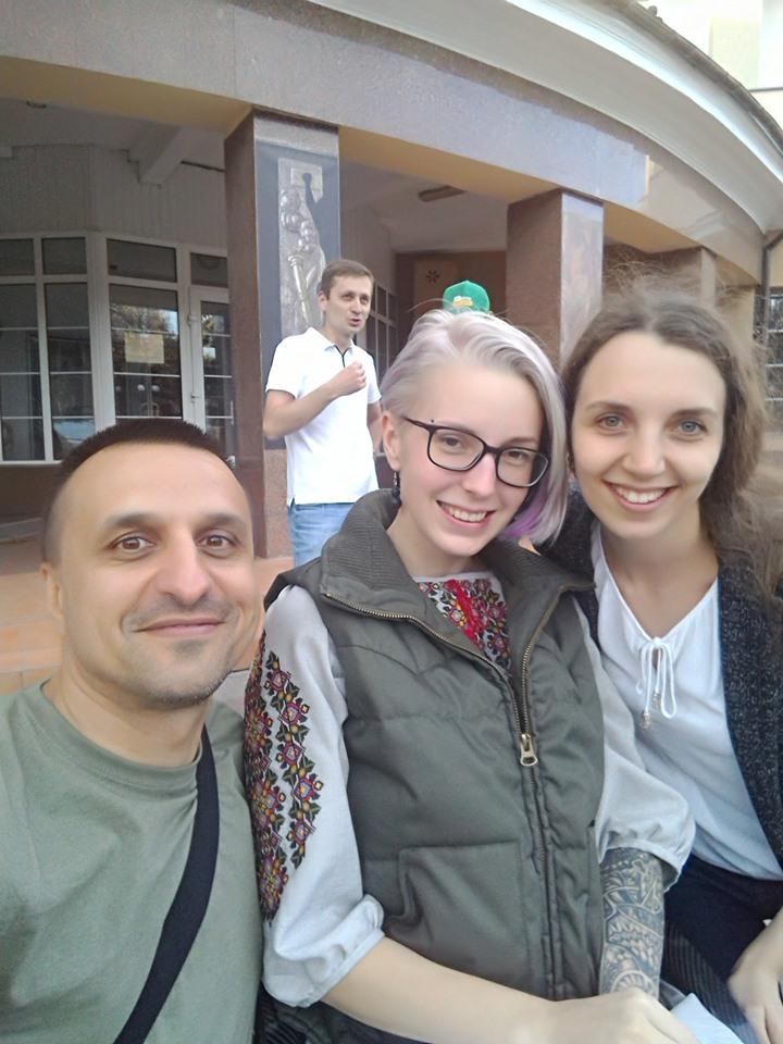 """З франківцями зустрілася легендарна """"госпітальєрка"""" Яна Зінкевич 8"""