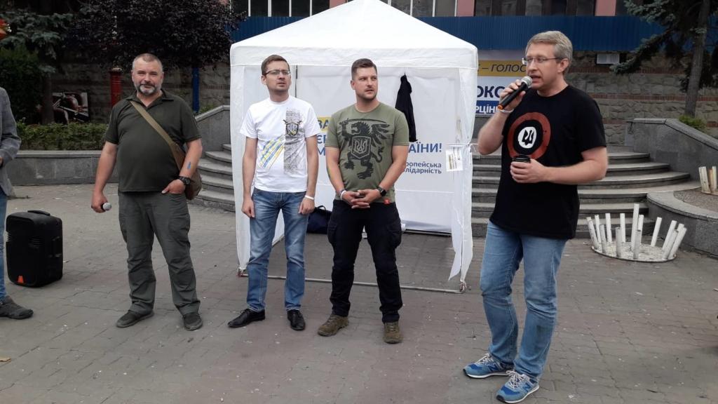 Відомий телеведучий Віталій Гайдукевич підтримав кандидата від ЄС Олексія Петечела 1