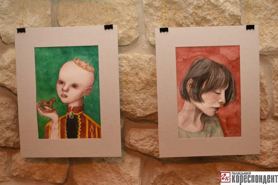 """""""Без назви"""": у Франківську відкрилась виставка картин 14-річної Софії Гарматюк 2"""