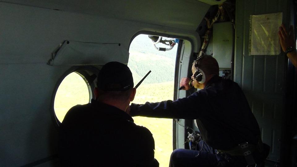 Прикарпатські рятувальники відпрацьовують посадку гелікоптера на Піп Іван 14