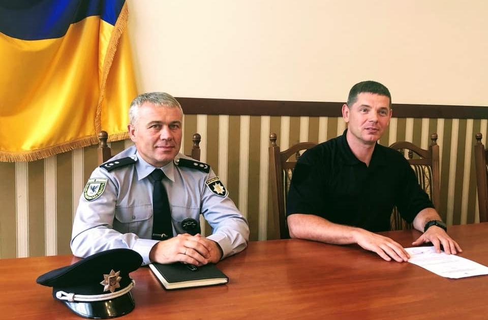 На Тисмениччині новий керівник відділу поліції