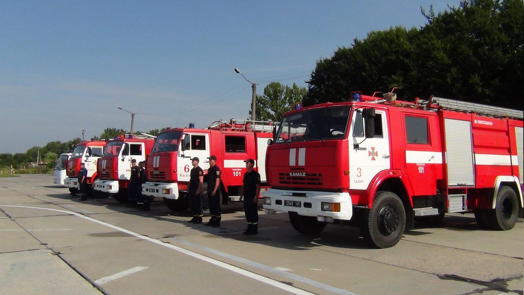 Прикарпатські рятувальники вчаться гасити лісові пожежі з літаків та гелікоптерів 6