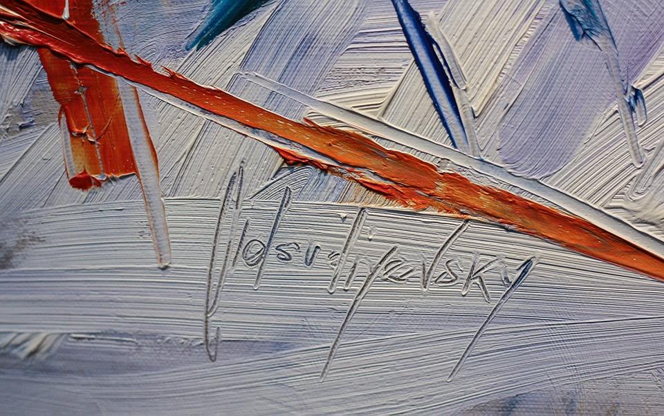 Живопис, музика і аромати: у Бастіоні відкрили особливу виставку абстракцій 1