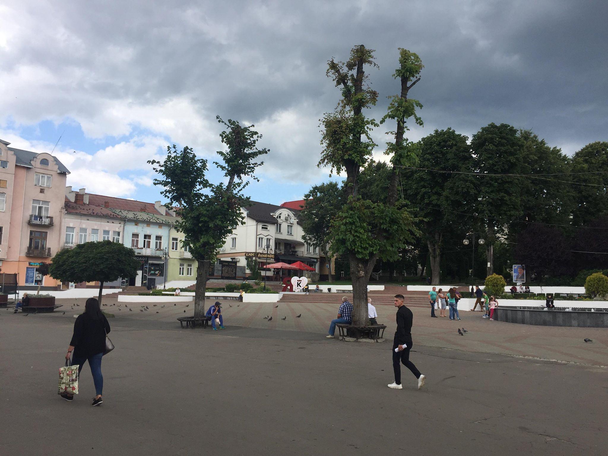 """""""Я люблю Калуш"""": на центральній площі у райцентрі встановили нову фотозону 1"""