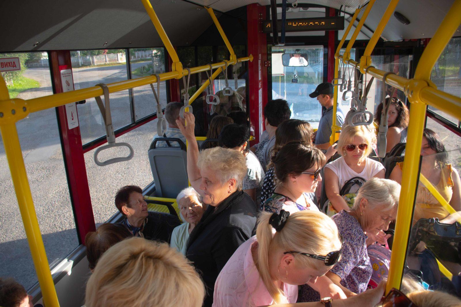 З Чернієва у Франківськ за 4 грн: у місті запустили шостий комунальний маршрут 1