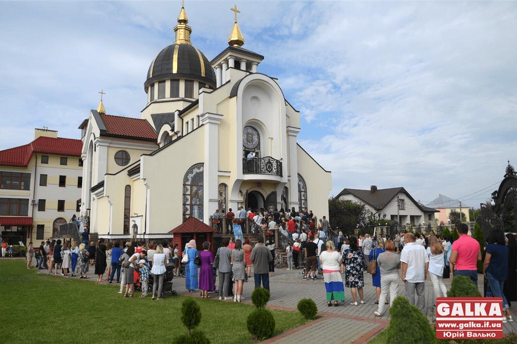 Сотні франківців прийшли прикластися до мощей апостола Тадея 1