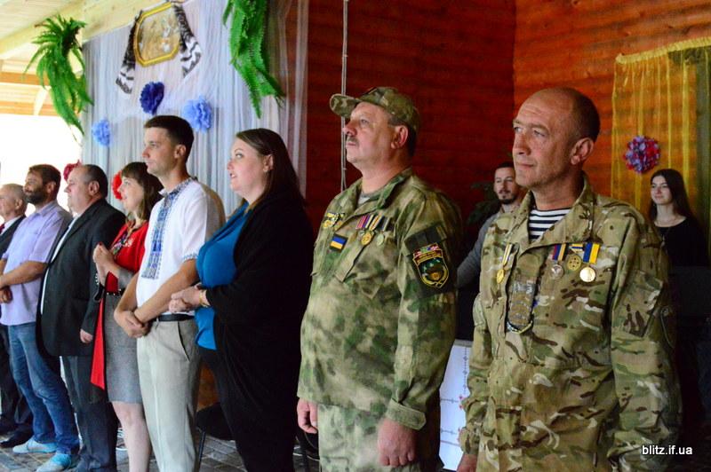 На Прикарпатті відкрився новий табір – першими відпочивають діти учасників АТО 12