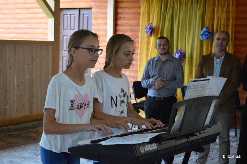 На Прикарпатті відкрився новий табір – першими відпочивають діти учасників АТО 16
